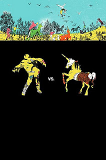 Zombies vs Unicorns cover
