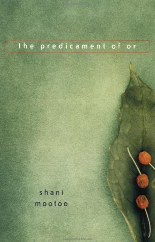 the predicament of or shani mootoo