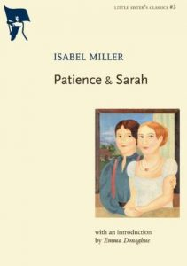 Patience and Sarah by Isabel Miller