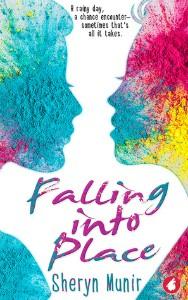 Falling into Place by Sheryn Munir cover