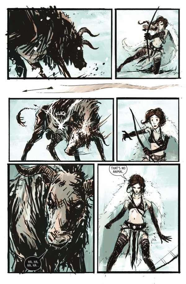 Page from Heathen