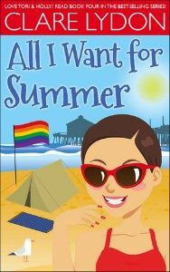 All I Want for Summer by Clare Lydon cover