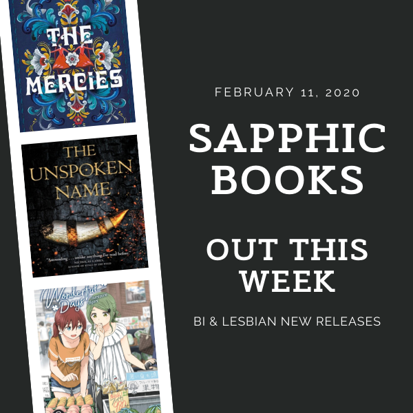 Sapphic Books Out This Week graphic