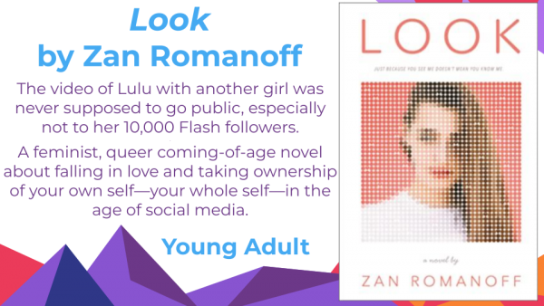 Look by Zan Romanoff cover and blurb