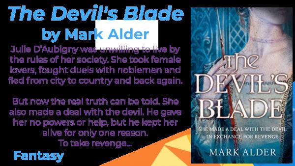 The Devil's Blade by Mark Alder