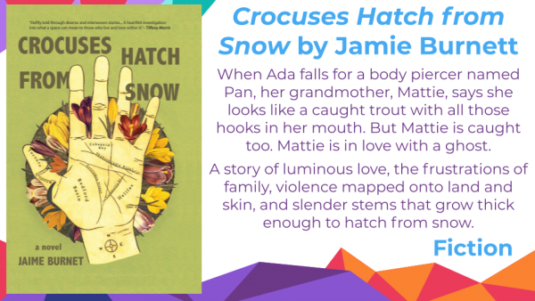 Crocuses Hatch from Snow by Jamie Burnet cover and blurb