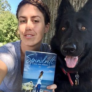 Anna Burke with her dog!