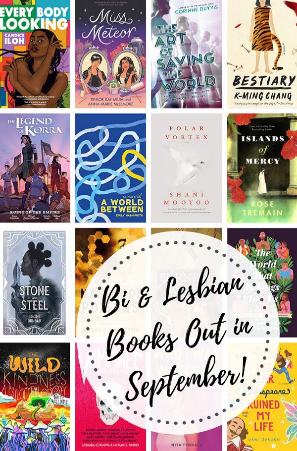 Bi & Lesbian Books Out in September!