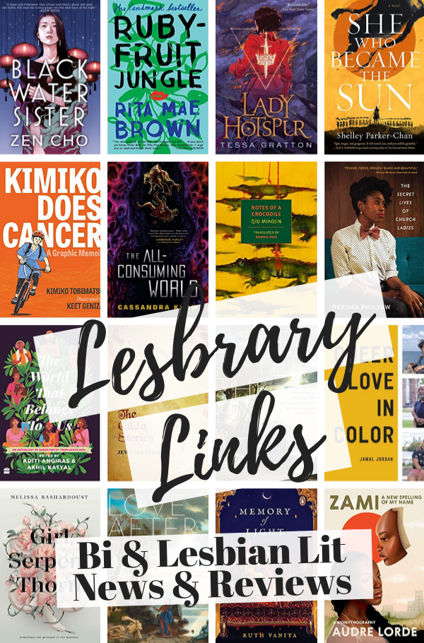 Lesbrary Links cover collage